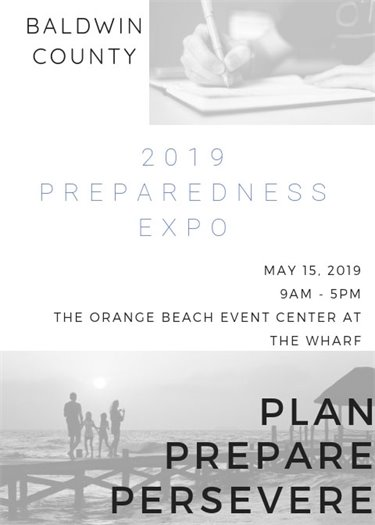 Baldwin County Preparedness Expo on Wednesday, May 15