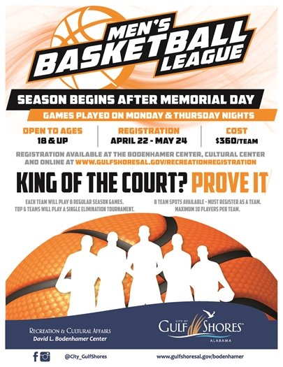 Men's League Flyer