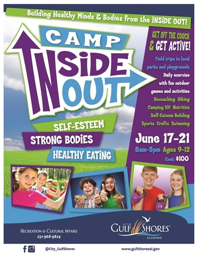 Camp Inside Out Flyer