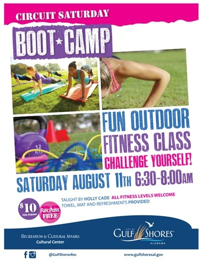 City of Gulf Shores - Boot Camp