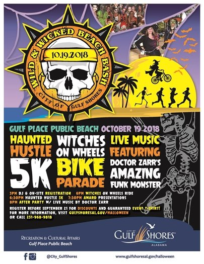 Wild & Wicked Beach Bash is THIS FRIDAY, Oct. 19!