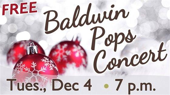 Baldwin Pops Christmas Concert