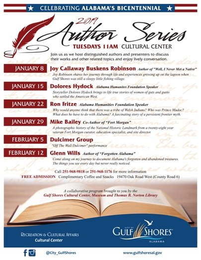 2019 Author Series