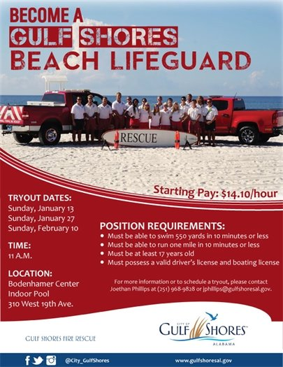 Gulf Shores Beach Lifeguard Tryout Dates