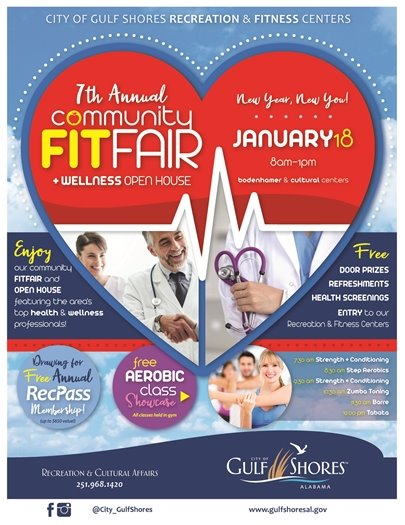 7th Annual Community Fit Fair & Open House returning Friday, January 18!
