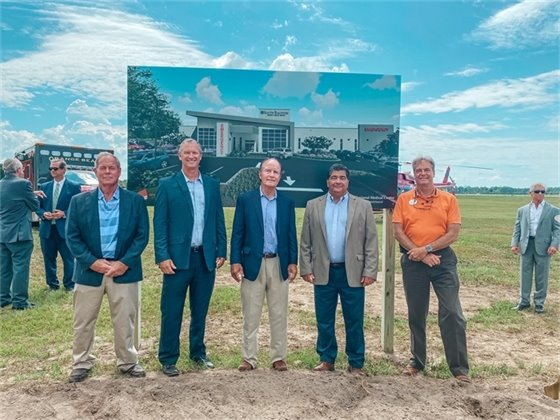 Gulf Shores Mayor and City Council Members at Groundbreaking