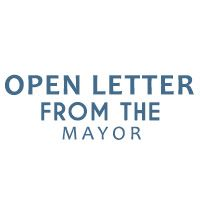 open letter mayor