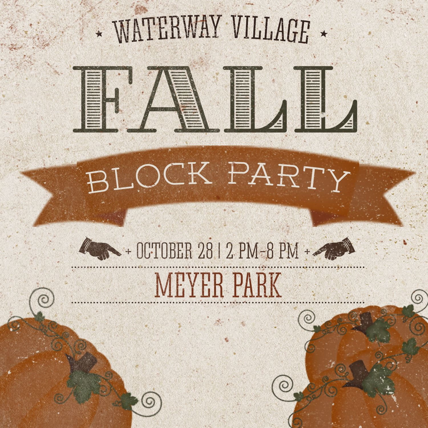 Fall Block Party Logo