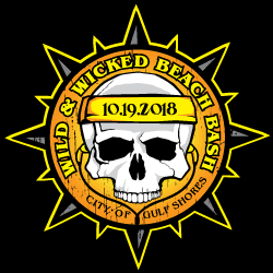 wild and wicked beach bash logo