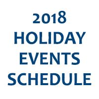 2018 Holiday Events Newsflash