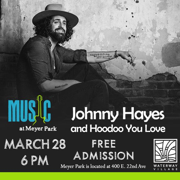 Johnny Hayes - March 28 - Facebook