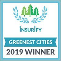Newsflash Button for Website - Greenest City logo