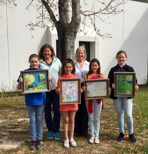 Arbor Day Contest Winners