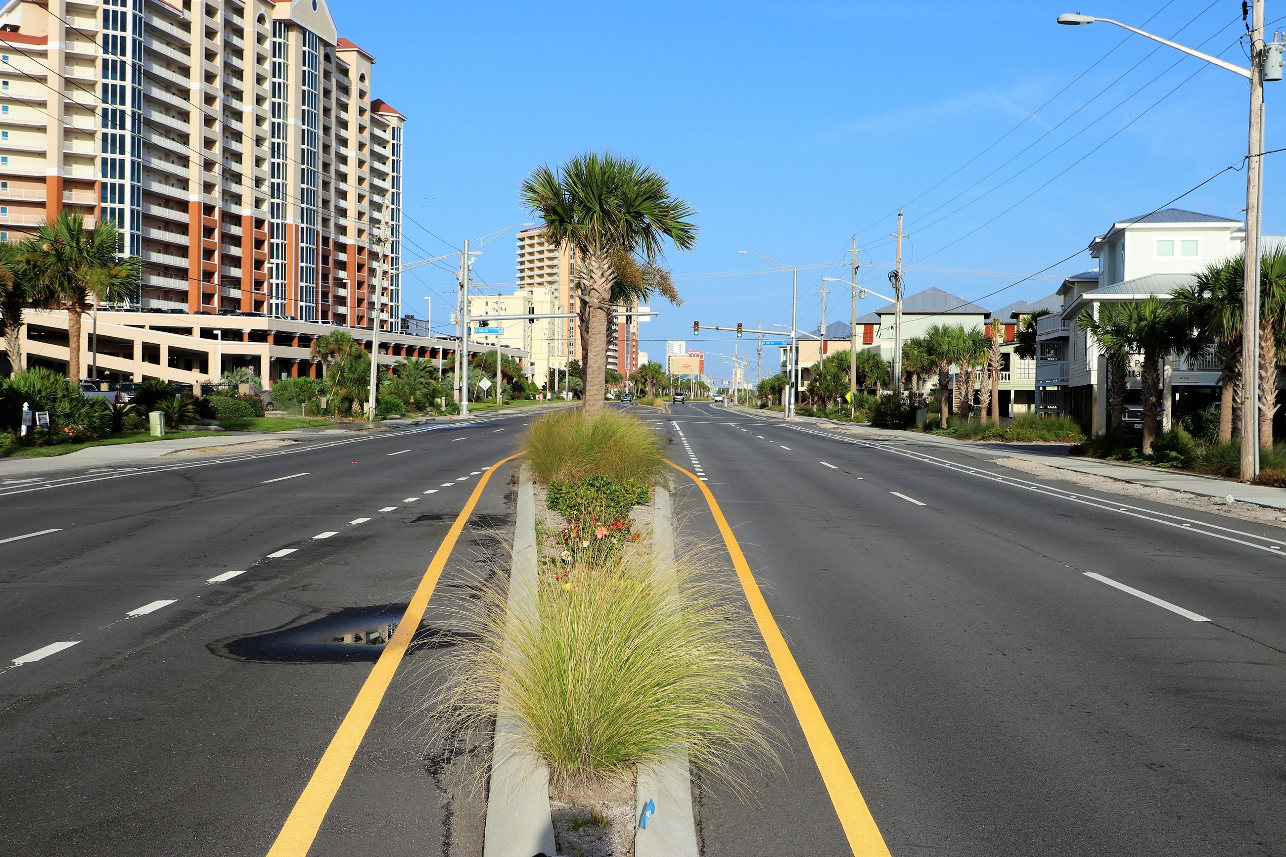 After Photo of Beach Boulevard Intersection