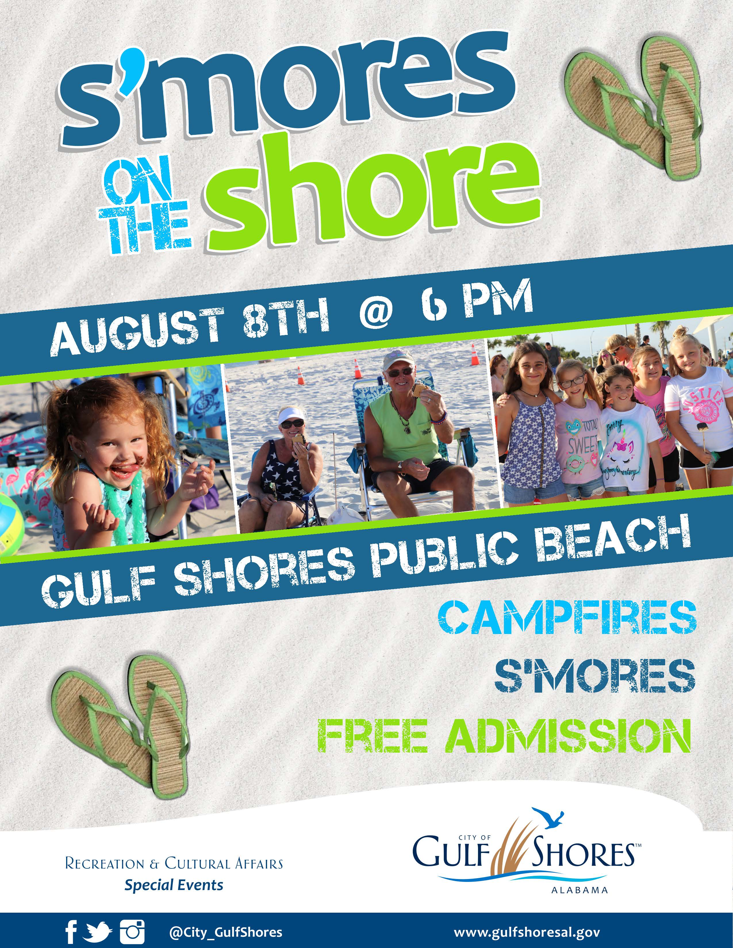 Smores on the Shore August 2019