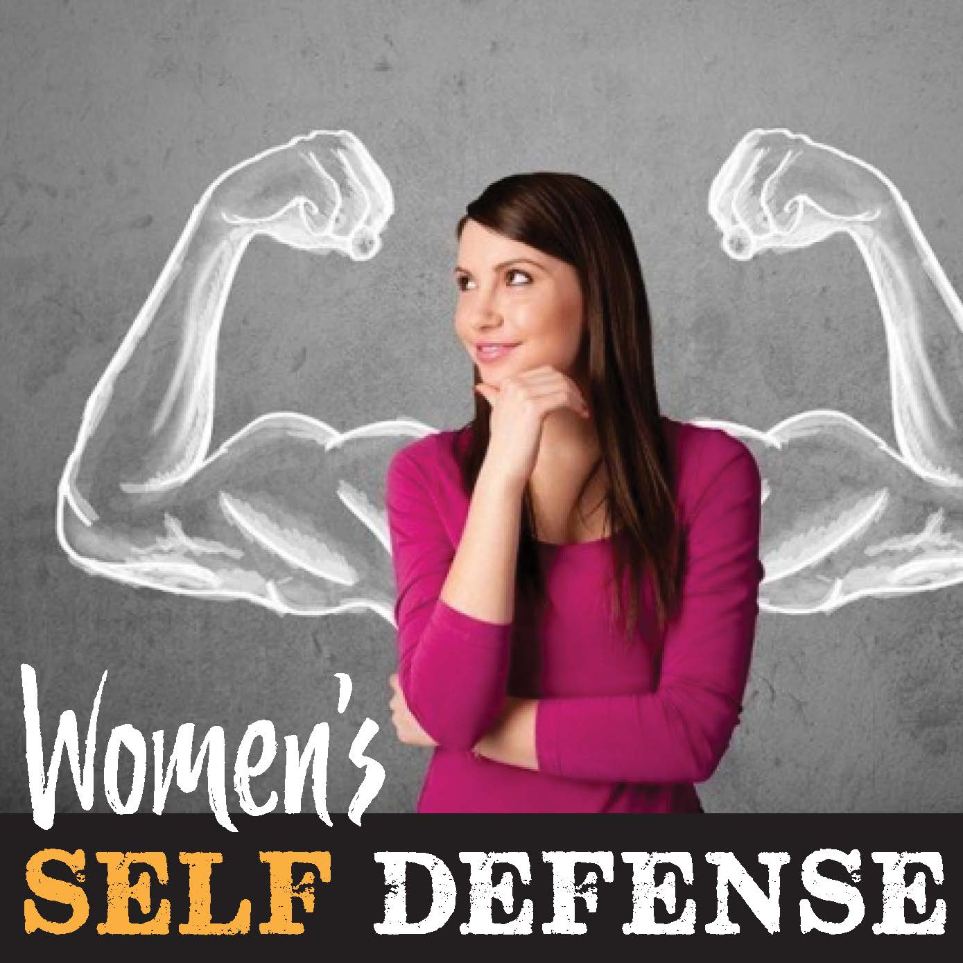 Womens Self Defense Classes Logo