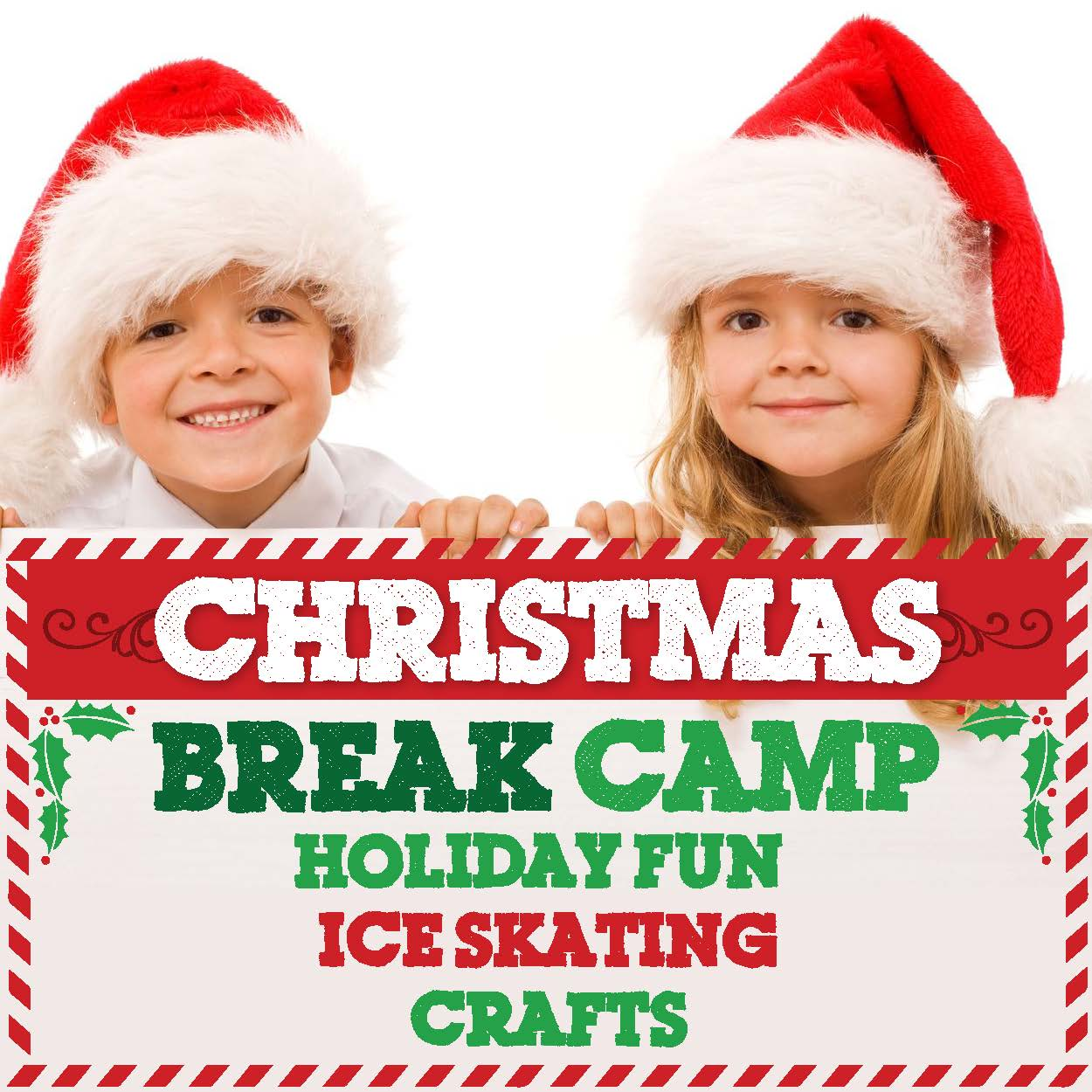 Christmas Break Camp Logo
