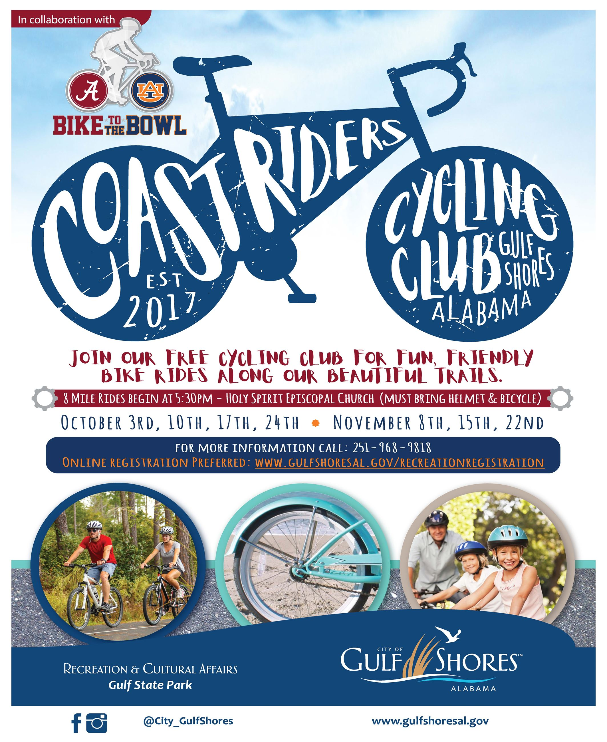 Coast Riders informational flyer