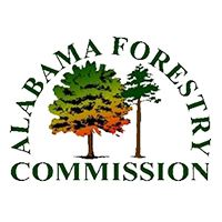 Newsflash Button for Website - Alabama Forestry Commission logo