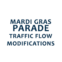 Mardi Gras Parade Traffic