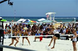 College Sand Volleyball